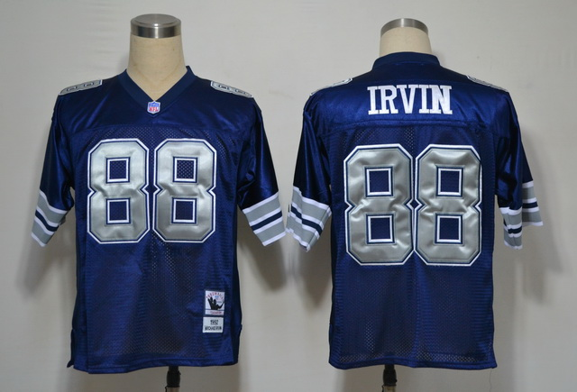 Cowboys 88 IRVIN Blue M&N 1992 Jerseys