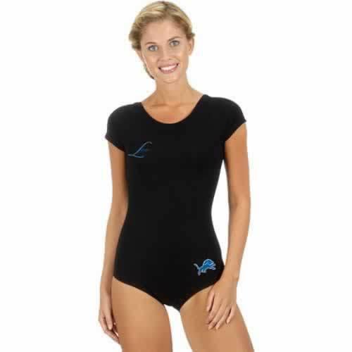 Detroit Lions Black Women Swimsuit