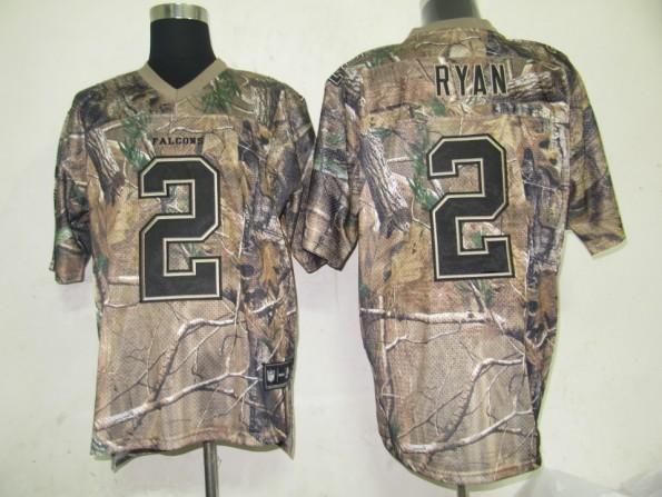 Falcons 2 Matt Ryan camo Jerseys