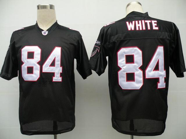 Falcons 84 Roddy White black Jerseys