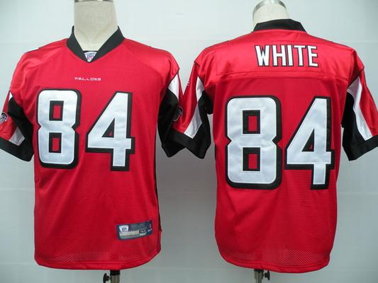 Falcons 84 Roddy White red Jerseys