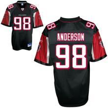 Falcons 98 Jamaal Anderson black Jerseys