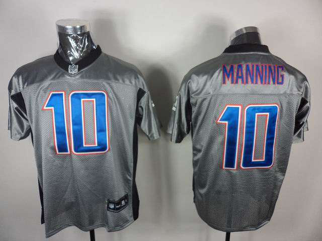 Giants 10 Manning Grey Jerseys