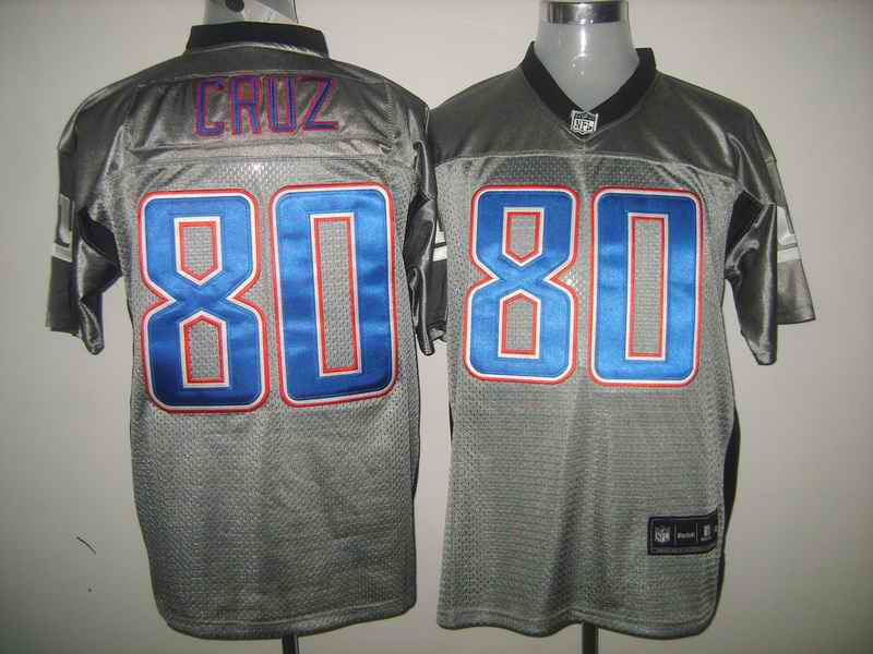 Giants 80 CRUZ gray jerseys