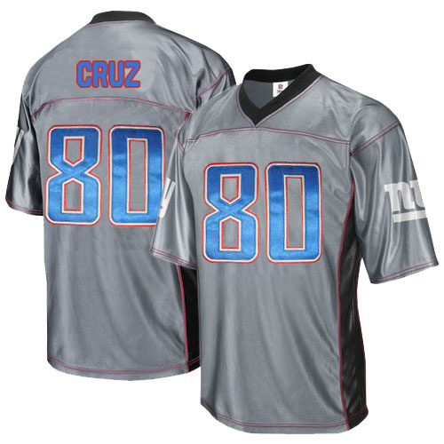 Giants 80 Cruz Grey Jersey