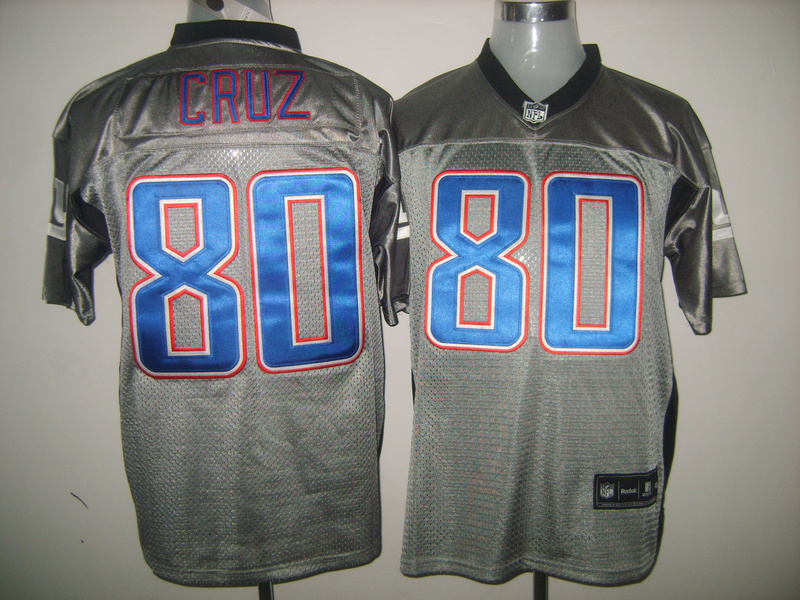Giants 80 Cruz Grey Jerseys