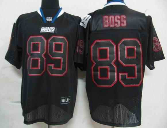 Giants 89 Boss black field shadow Jerseys
