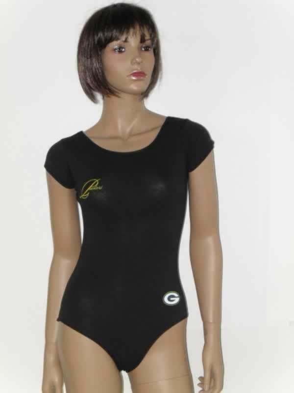 Green Bay Packers Black Women Swimsuit