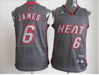 Heat 6 James Grey Jerseys