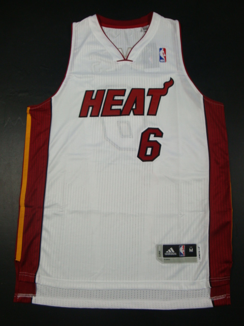 Heat 6 James White AAA Jerseys