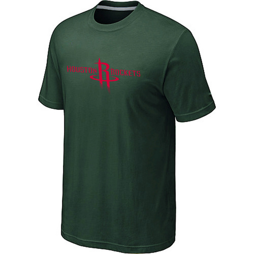 Houston Rockets adidas Primary Logo T-Shirt -D.Green