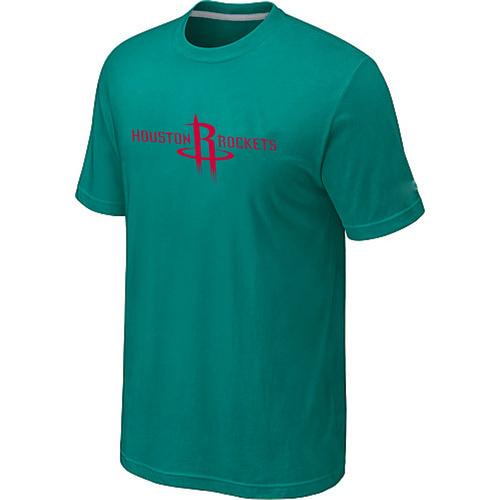 Houston Rockets adidas Primary Logo T-Shirt -Green