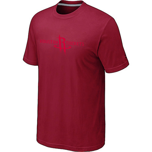 Houston Rockets adidas Primary Logo T-Shirt -Red