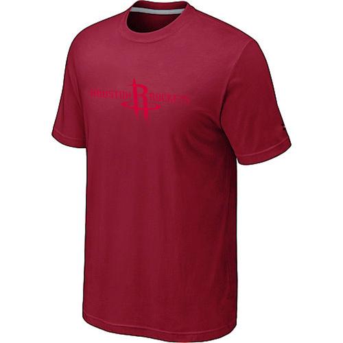 Houston Rockets adidas Primary Logo T-Shirt -Red