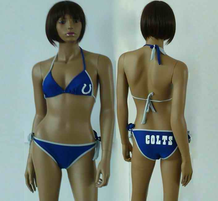 Indianapolis Colts women Halter Bikini