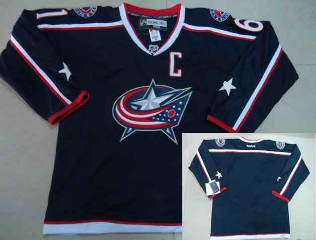 Jackets Blank Blue Jerseys