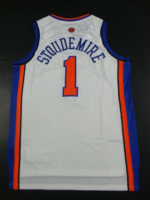 Knicks 1 Stoudemire White AAA Jerseys