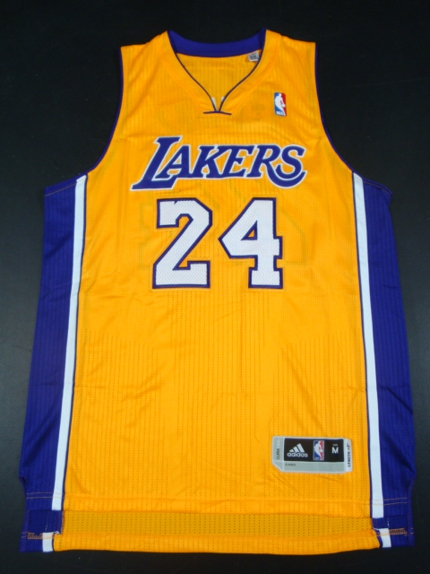 Lakers 24 Kobe Yellow AAA Jerseys