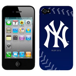 MLB New York Yankees Blue Colors Iphone 4-4s Case
