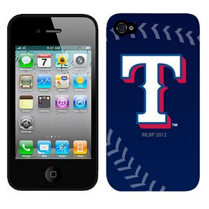 MLB Texas Rangers Blue Colors Iphone 4-4s Case
