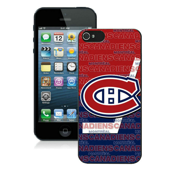 Montreal Canadiens-iPhone-5-Case
