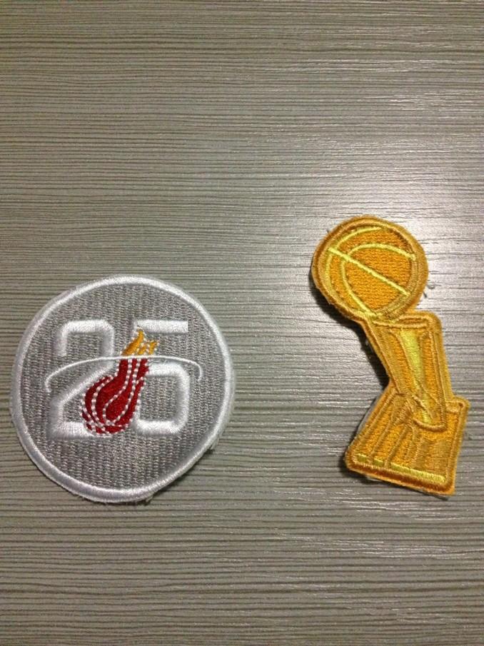 NBA 2013 Champion Patch&Heat 25th Patch