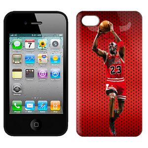 NBA Bulls jordan 23 Iphone 4-4s Case-2