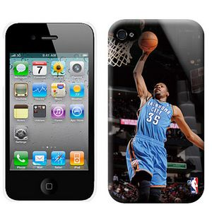 NBA Los Oklahoma City Thunder Durtant 35 Iphone 4-4s Case