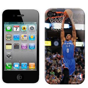 NBA Los Oklahoma City Thunder Westbrook 0 Iphone 4-4s Case