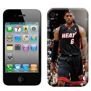 NBA Miami Heat 6 James Iphone 4-4s Case