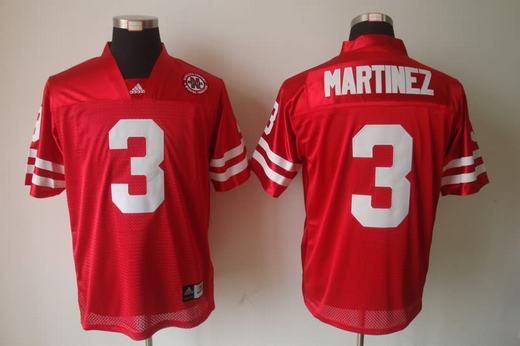 Nebraska Cornhuskers 3 Taylor Martinez Red Jersey