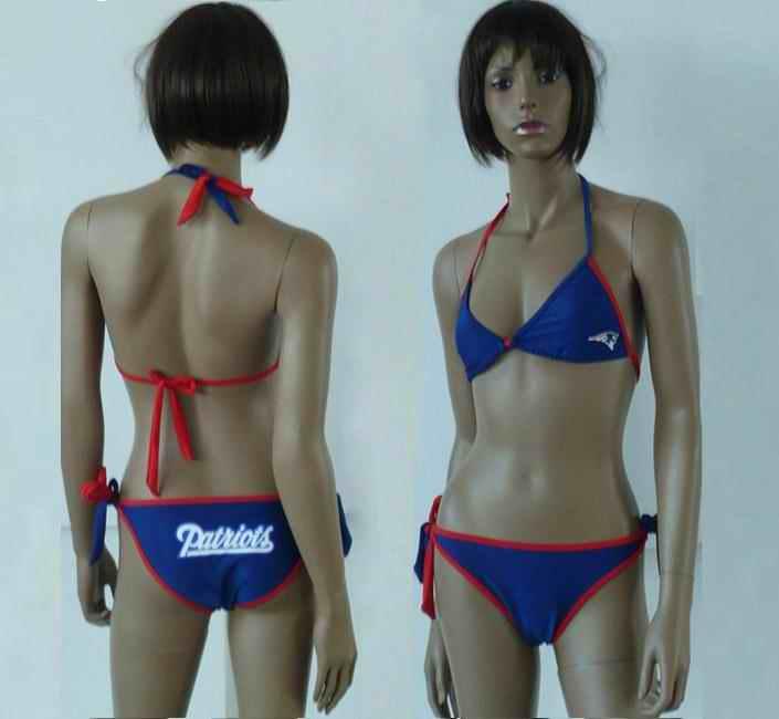 New England Patriots women Halter Bikini