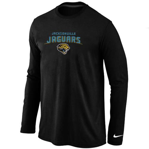 Nike Jacksonville Jaguars Heart & Soul Long Sleeve T-Shirt Black