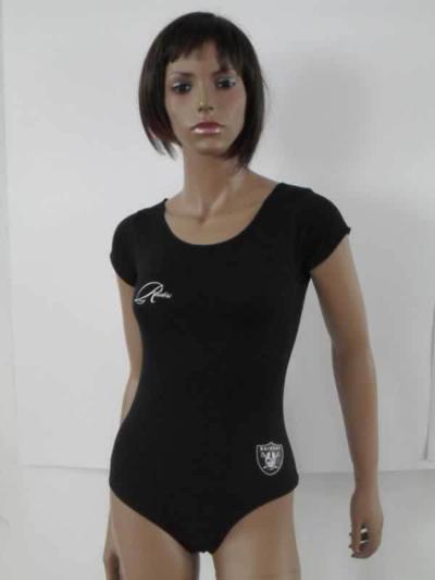 Oakland Raiders Black Women Swimsuit