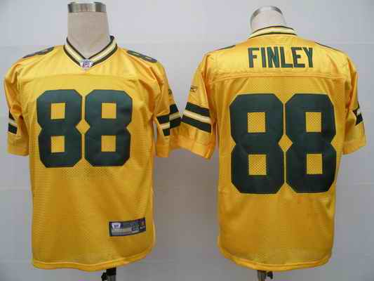 Packers 88 Jermichael Finley yellow Jerseys