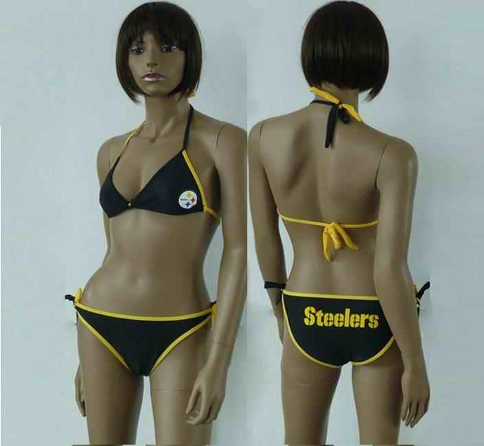 Pittsburgh Steelers women Halter Bikini