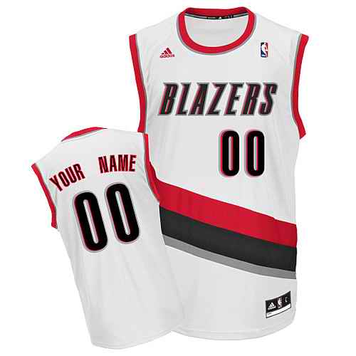 Portland Trail Blazers Youth Custom white Jersey