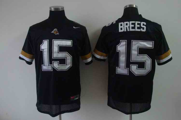 Purdue Boilermakers 15 Brees black jerseys