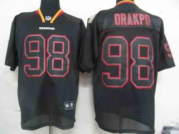 Redskins 98 Opakpo black field shadow Jerseys