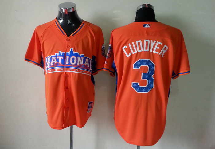 Rockies 3 Cuddyer orange 2013 All Star Jerseys