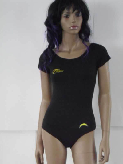 San Diego Chargers Black Women Swimsuit