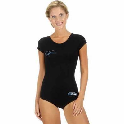 Seattle Seahawks Black Women Swimsuit