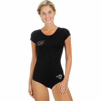 St Louis Rams Black Women Swimsuit
