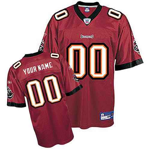 Tampa Bay Buccaneers Youth Customized red Jersey