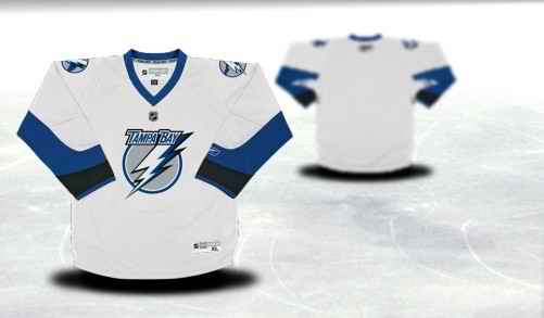 Tampa Bay Lightning Youth Customized White Jersey