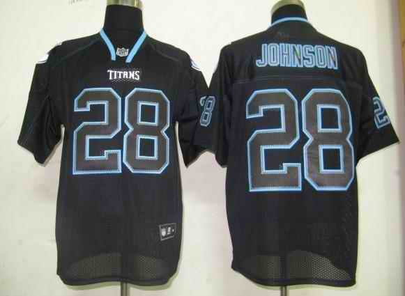 Tennessee Titans Men Customized black field shadow Jersey