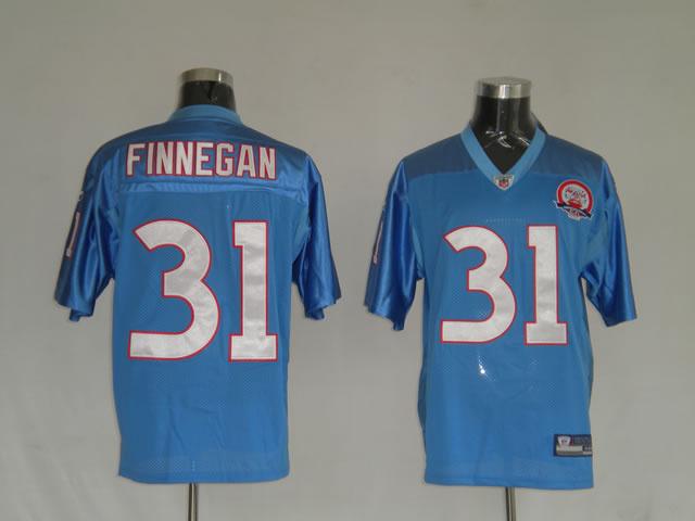 Titans 31 Cortland Finnegan light blue Jerseys