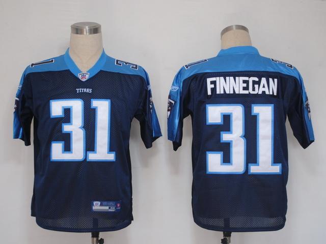 Titans 31 Finnegan dark blue Jerseys