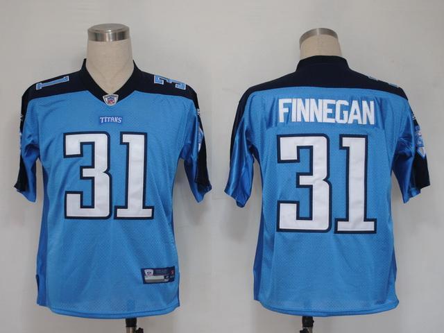 Titans 31 Finnegan light blue Jerseys
