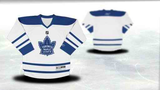 Toronto Maple Leafs Youth Customized White Third Jersey